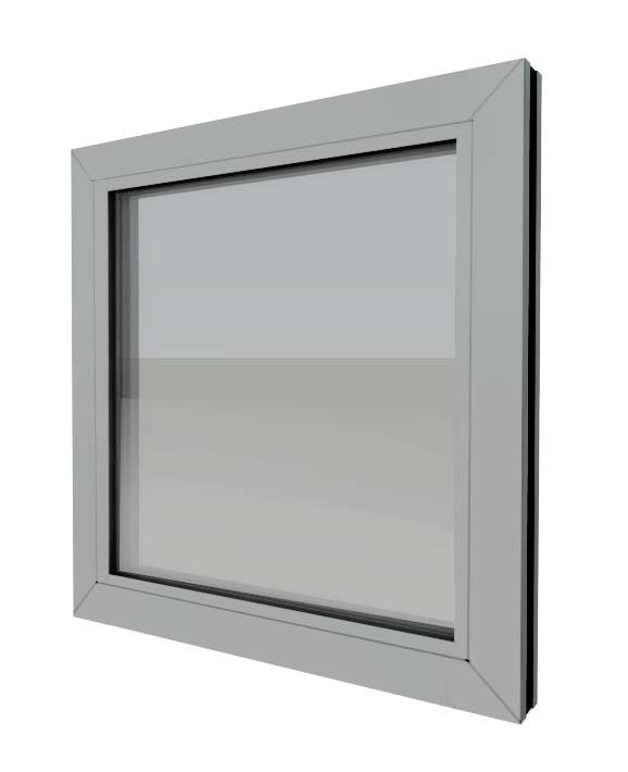chassis vitre non coupe feu industrimat fermetures. Black Bedroom Furniture Sets. Home Design Ideas