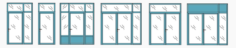 porte vitrée
