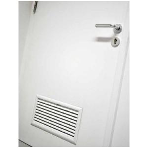 Porte de chaufferie industrimat fermetures for Grille de ventilation pour porte