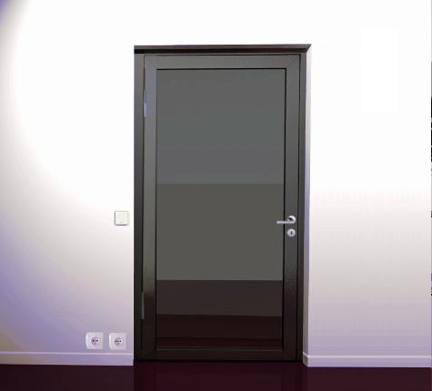porte vitr e acier industrimat fermetures. Black Bedroom Furniture Sets. Home Design Ideas